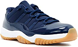 AIR JORDAN 11 Retro Low 'Navy Gum' - 528895-405