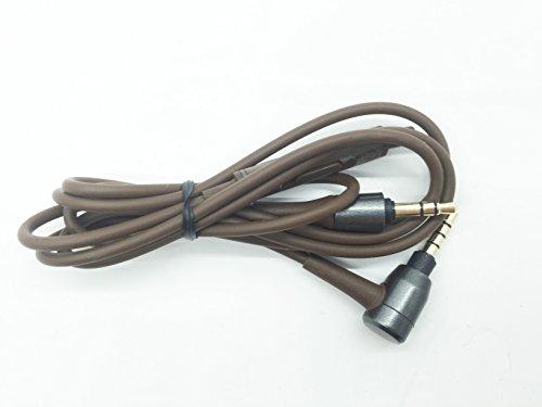 Remplacement de mise à niveau câble audio avec micro télécommande extension de ligne de fil pour casques audio Audio-Technica ATH-MSR7