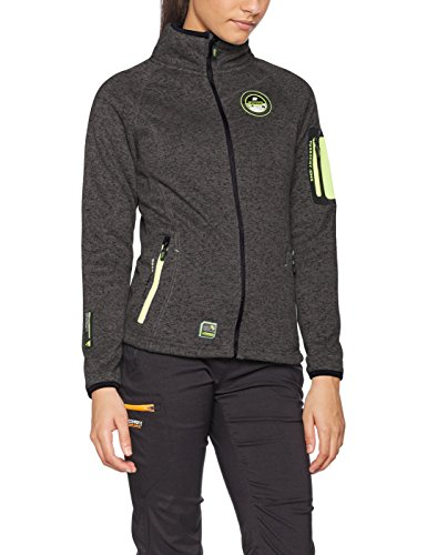 Geographical Norway Trapeze Lady, Giacca Donna Grigio (Dark Gree)
