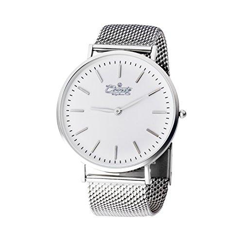 hombre y mujeres reloj de pulsera m.conte modelo de reloj pulsera m.conte ariete unisex.