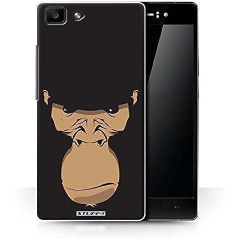 STUFF4/diseño de Skin funda // OPPR5/de caras de Animal de la colección de gorila