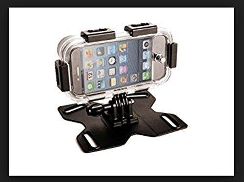 MAPTAQ Outdoor Iphone 5-Halterung Q-Mountz Inkl. Fisheye Linse, schwarz,26105