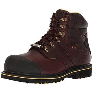 Adtec Men's 9722 Ankle Boot, Dark Brown, 13 Wide US