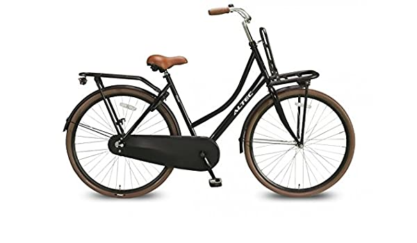 5d269dcb2fe 28 inch (71.12 cm) women's Holland city bicycle Altec classic black.:  Amazon.co.uk: Sports & Outdoors