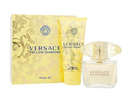 Versace Yellow Diamond Confezione Regalo 90ml EDT Spray + 100ml Lozione Corpo
