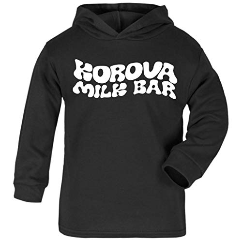 A Clockwork Orange Korova Milk Bar Logo Baby and Kids Hooded ()