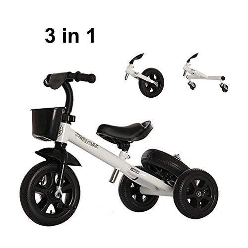XIAOYANG Bicicletas Niños Multifunción Kids Bike Balance Bebé Vespa Suave Asiento Asiento Portable...