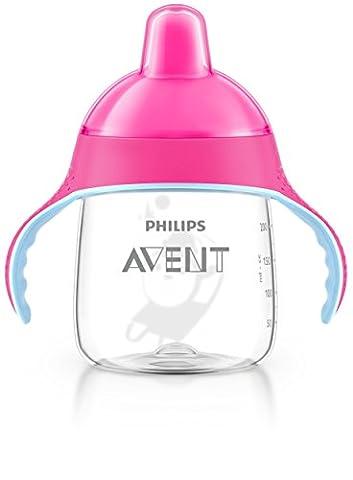 Philips AVENT SCF753/07 Becher mit Trinkschnabel, ab dem 12. Monate, 260 ml, (Rosa Piccolo Stock)