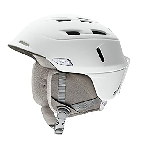 Smith Women's Compass Helmet, White Pearl, Size 55-59