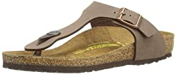 Birkenstock Gizeh, Unisex Adult's Sandals, Brown (Mocca), 7 Uk (41 Eu)