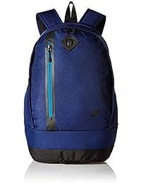 18938357fa Nike 25 Ltrs Binary Blue/Industrial Blue/Black School Backpack (BA5230-430