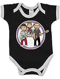 VIPwees B/éb/é Babygrow Lords Of Time Boys /& Girls Baby Bodysuit