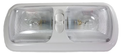 arcon-18124-euro-style-double-light-with-optic-lens-and-white-base-by-arcon