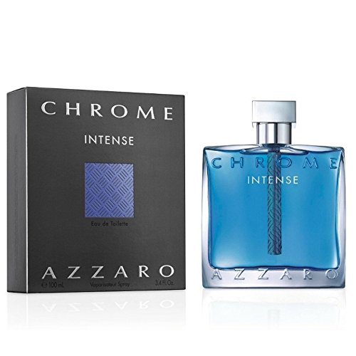 AZZAR0 Chrome Intense Eau de Toilette Spray 100ml