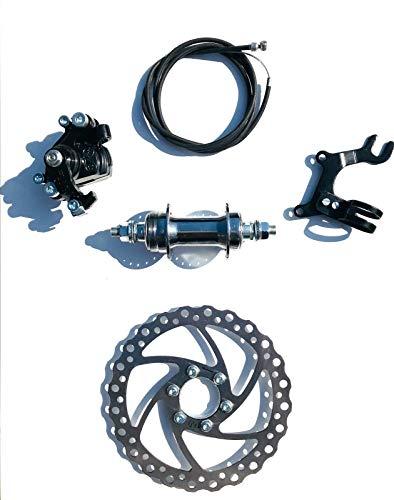AASHOPPERS Mechanische Scheibenbremse MTB Fahrrad Fahrrad Fahrrad Bremssattel 160 mm Rotoren Set -