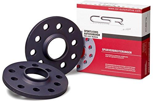 CSR-Automotive CSR-SP12124W-Distanziali ruote 20mm asse (10mm per ruota), sistema 2e (anodizzato) LK 120/5NLB 72.6MM distanza SCH grattugia