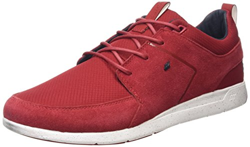 Boxfresh Aggra BCH SDE, Hi-Top Uomo Sneakers, Rosso (Red (Ch Red/Nvy)), 42.5