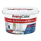 AVENA COLOR Anti Schimmel Farbe 5 L Wandfarbe Dispersion weiß