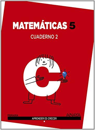 Matemáticas 5. Cuaderno 2 (Aprender es crecer) - 9788467864373