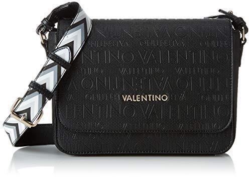 Mario Valentino Valentino by Damen Dory Tornistertasche, Schwarz (Nero) 9x18x24 cm