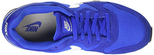Nike Md Runner 2, Sneakers basses homme Azul / Blanco / Gris (Game Royal / White-Wlf Gry-White)