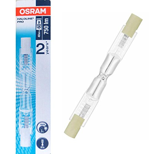 Halogenstab R7s 48 Watt 80 mm 64684 ECO Energy Saver - Osram -