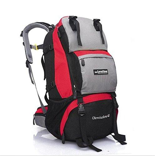 Wmshpeds Moda tempo libero pacchetto fitness gli uomini e le donne all'aperto in funzione off-road package Arrampicata Cavalcare borsa a tracolla F