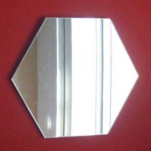 Super Cool Creations Espejo Hexagonal, 20 cm x 20 cm