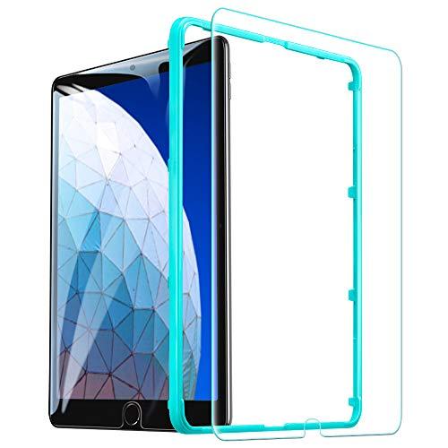 ESR Panzerglas Schutzfolie kompatibel mit iPad Air 3 2019 / iPad Pro 10.5 Zoll, Premius 9H Hartglas Bildschirmschutzfolie für iPad 10.5