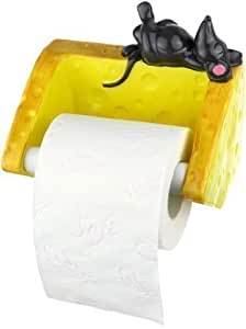 der toilettenpapierhalter maus mit k se k che haushalt. Black Bedroom Furniture Sets. Home Design Ideas