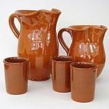 Spanish Terracotta jug 1 litre