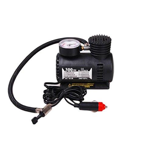 Gaddrt 12V voiture électrique mini compresseur compact pompe à air gonflable pneumatique 300 psi nouveau