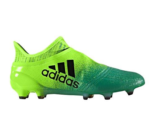 Adidas X 16+ Pure Chaos FG - Crampons de Foot - Vert Solaire/Noir/Vert green