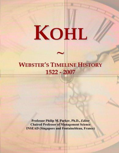 kohl-websters-timeline-history-1522-2007
