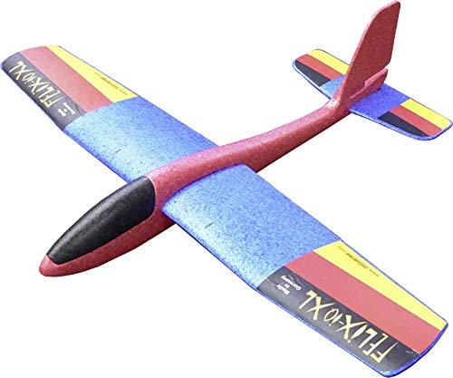 Wurfgleiter Felix-IQ \' XL - The Big One \' - Looping & Gleitflug - Qualität 100{4e3ba17c400c38aa60217567f65ada99d7e6e506bee8e6b0df54f0483b72ca1c} Made in Germany - Farblich Sortiert