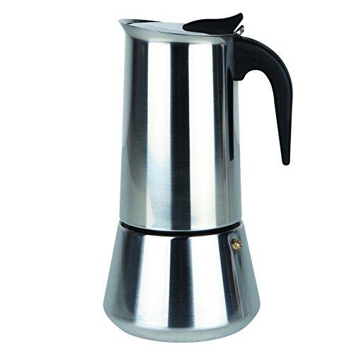 Orbegozo KFI 250 - Cafetera de acero inoxidable, 2 tazas