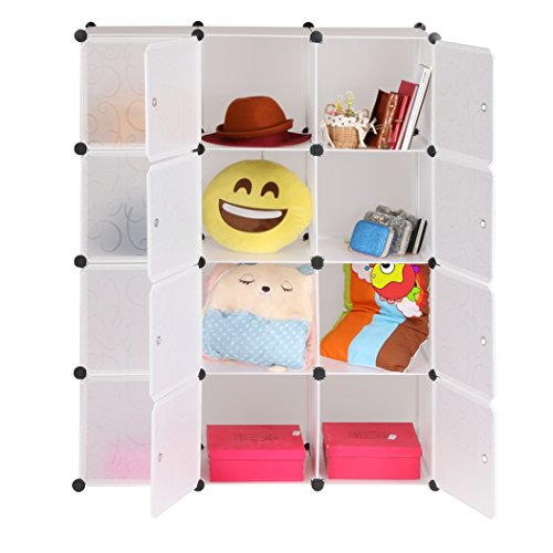 12-cubes-waterproof-1-wardrobe-storage-organisers-cabinet-moisture-proof-collection-rack-uk-stock