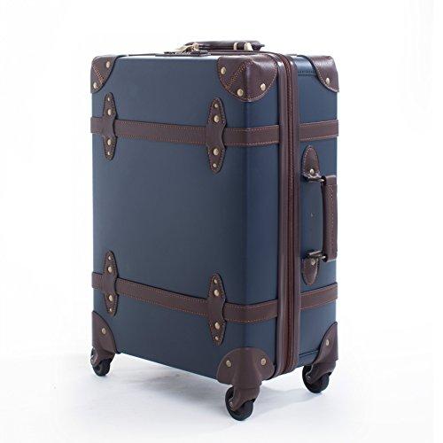 hoom-valise-trolley-valise-retro-fermeture-eclair-etanche-lockbox-etudiant-roulette-cabine-bagagesbl