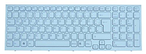 NExpert deutsche QWERTZ Tastatur für Sony Vaio PCG-71213M Serie Weiss