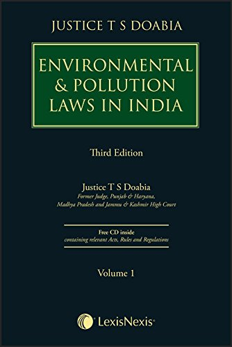 Environmental & Pollution Laws in India (Set of 2 Volumes)