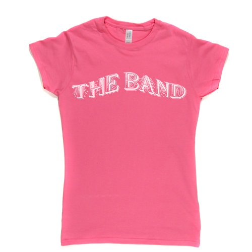 The Band Womens Fitted T-shirt Rosa