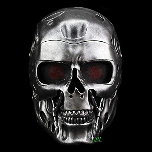 Dronse Terminator Helmet Horror CS Paintball Ghost Creepy Resin Masquerade Skull Movie Party Cosplay Props Mask