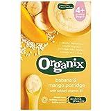 Organix La Banane Et La Mangue Bouillie 120G
