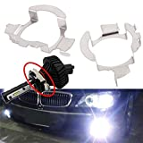 DIYEUWORLDL 2pcs/lot Clips Kit H7 HID Xenon Bulbs Base Holders Adapters Retainer for VW Bora Car-Styling
