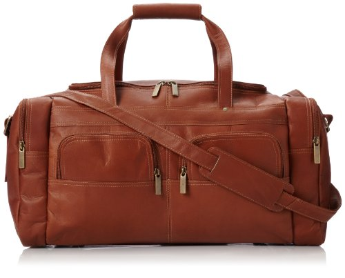david-king-co-19-x-95-inch-multi-pocket-duffel-tan-one-size