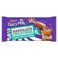 Cadbury Dairy Milk Marvellous Creation Peanut Toffee Cookie Bar 150g