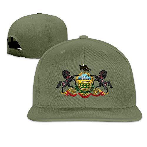 Liumiang Kappen hüte mützen Unisex Baseball Cap Pennsylvania State Flag Outdoor Sport Fishing Hats Dad Hat Sports Cap Lightweight Breathable Soft