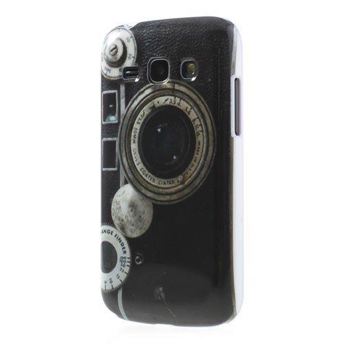 Caso duro / fotocamera copertura Samsung Galaxy Ace 3 LTE / GT-S7275 con lente Range Finder Custodia protettiva copertura posteriore Shell Vintage