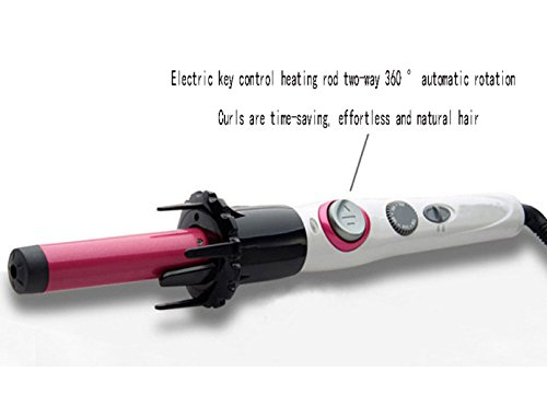 YIHANGG Curling Zange 25mm Automatische Lockenstab Lockenstab Turmalin Keramik Karte Haarglätter Elektrische Lockenstab Haar Lockenstab