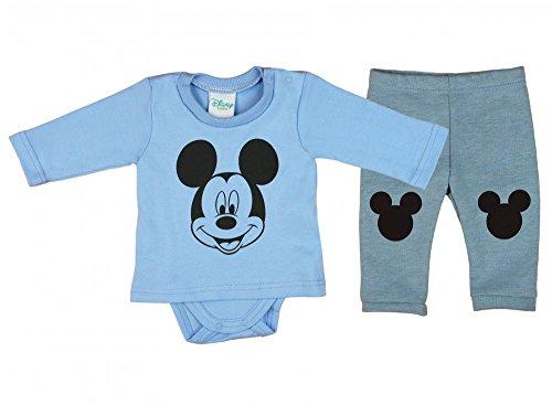 Jungen BABY-SET 2-teilig von Mickey Mouse in GRÖSSE -
